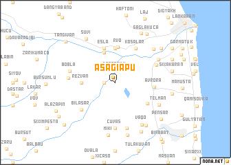 map of Aşağı Apu