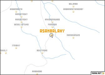 map of Asambalahy
