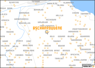 map of Ascharroudene