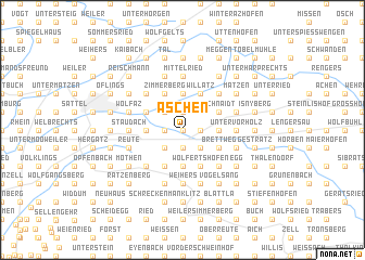 map of Aschen