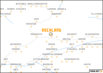 map of Aschland