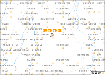 map of Aschthal