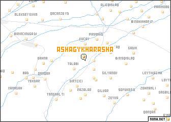 map of Ashagy Kharasha