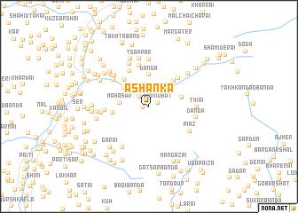 map of Āshanka