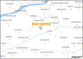 map of Ashcherino