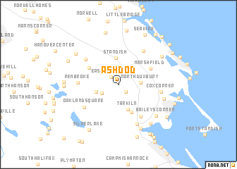 Ashdod United States USA map nonanet