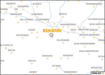map of Āshīānak