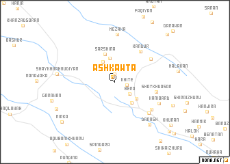 map of Ashkawta