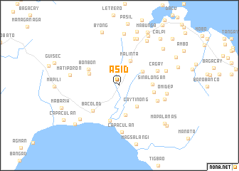 map of Asid