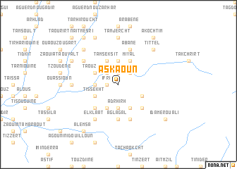 map of Askaoun
