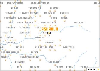 map of Askaoun