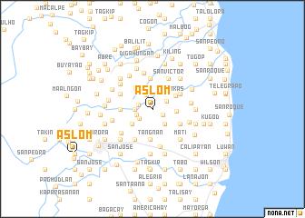 map of Aslom
