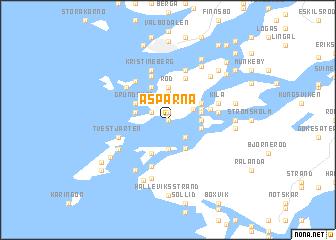map of Asparna