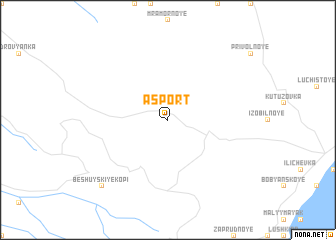 map of Asport