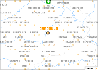 map of Asproúla