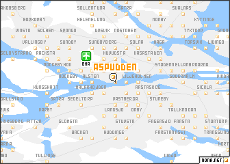 map of Aspudden