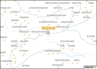 map of Assaka