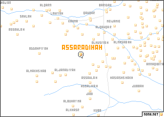 map of Aş Şarādiḩah