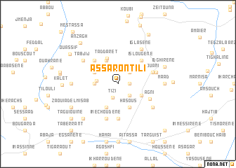 map of Assaron Tili