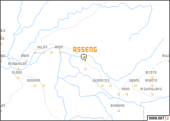 map of Asseng