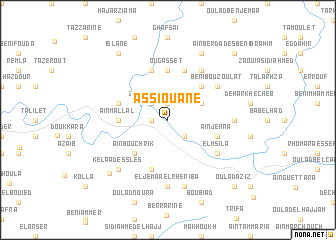 map of As Siouane