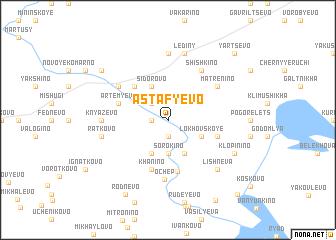 map of Astaf\