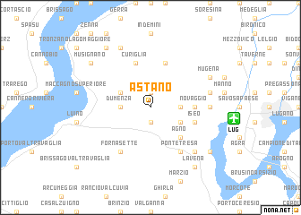 map of Astano