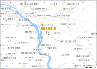 map of Astheim