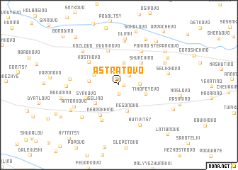 map of Astratovo