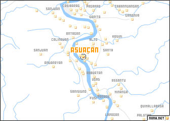 map of Asuacan