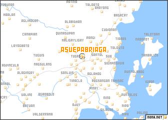 map of Asue-Pabriaga