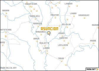 Asuncion Philippines Map Nonanet - Where is asuncion