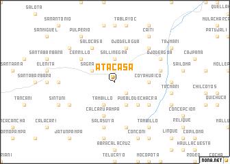 map of Atacasa