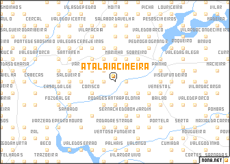 map of Atalaia Cimeira
