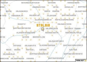 map of Atalaia