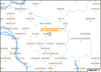 map of Atan Odot