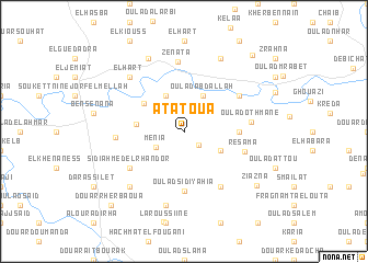 map of Atatoua
