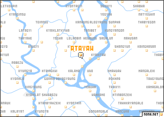 map of Atayaw