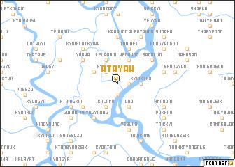 map of Atayaw