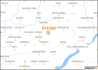 map of Atenor