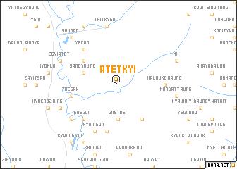 map of Atetkyi