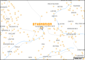 map of Athamánion