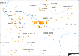map of Ath Thalib
