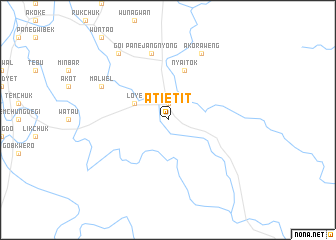 map of Atietit