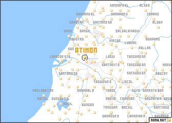 map of Atimon