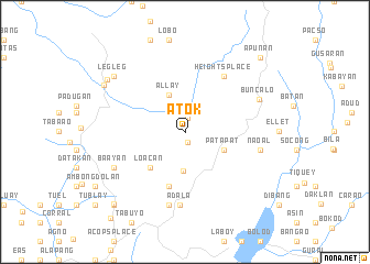 map of Atok