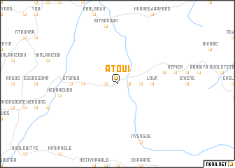 map of Atoui
