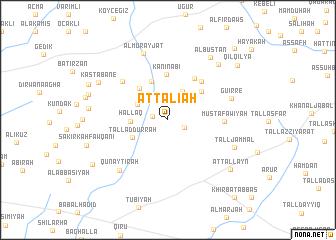 map of Aţ Ţalī'ah