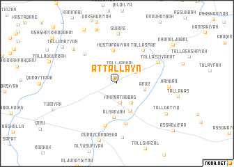 map of At Tallayn