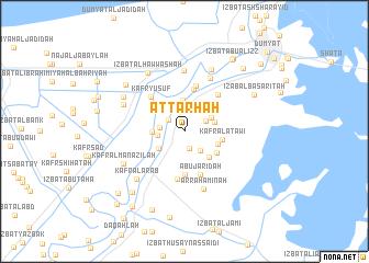 map of Aţ Ţarḩah